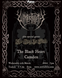 Winterfylleth, The King Is Blind. Camden Black Heart. 11 March 2015.