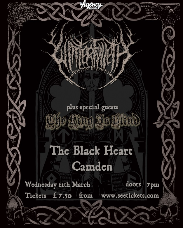 Winterfylleth, The King Is Blind. Camden Black Heart. 11 March 2015.