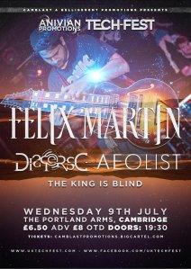 Felix Martin, Disperse, Aeolist, The King Is Blind