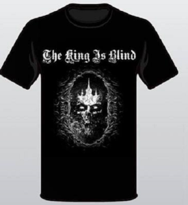 King Skull T-shirt Resized Front only
