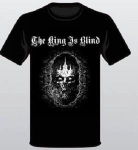 King Skull T-shirt Resized Front only